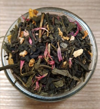 Tè verde limone e vaniglia